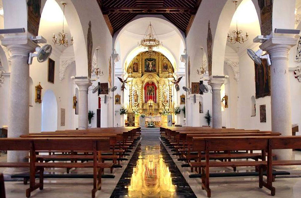 Interior Iglesia Mijas
