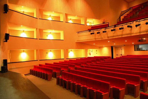 Interior Teatro Las Lagunas