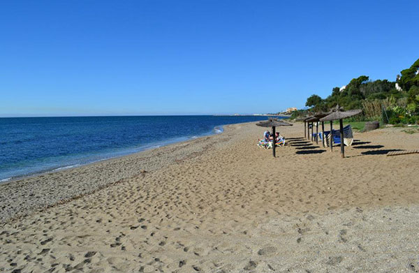 Playa la Luna, Calahonda
